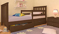 """Кровать детская подростковая от """"Wooden Boss"""" Ариана Люкс  (спальное место  80 см х 190/200 см)"""