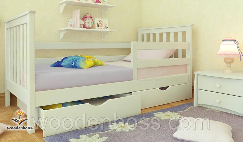 """Кровать детская подростковая от """"Wooden Boss"""" Ариана Экстра (спальное место 70 см х 140 см)"""