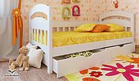 """Кровать детская подростковая от """"Wooden Boss"""" Селеста  (спальное место  70 см х 140 см)"""