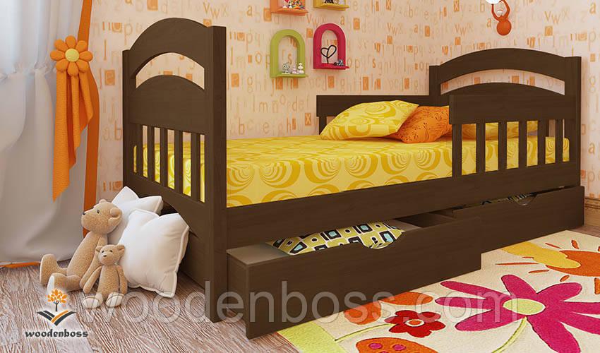 """Кровать детская подростковая от """"Wooden Boss"""" Селеста Люкс (спальное место 80 см х 190/200 см)"""