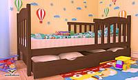 """Кровать детская подростковая от """"Wooden Boss"""" Флави Люкс  (спальное место 80 см х 190/200 см)"""