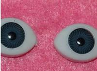 Глазки  кукольные серые 14267-1 упаковка 50 пар