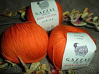 Gazzal Baby Cotton (беби коттон) 3419 оранж