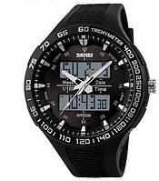 Спортивные наручные часы Skmei 1066 кварцевые водонепроницаемые ударопрочные
