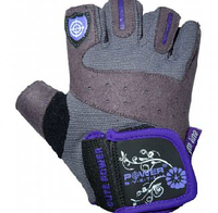 Перчатки фиолетовые Power System для фитнеса и тяжелой атлетики Женские