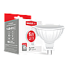 LED лампа MAXUS 5W MR16 м'яке світло 220V GU5.3 AP (1-LED-513-01)