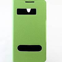 Чехол-книжка для Lenovo S890, боковой, Pielcedan, Лайм /flip case/флип кейс /леново
