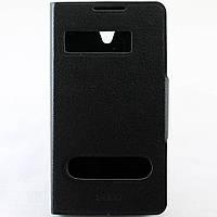 Чехол-книжка для Lenovo S890, боковой, Pielcedan, Черный /flip case/флип кейс /леново