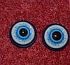 Глазки  стеклянные 10 мм 14272