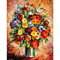Набор для раскраски картин по номерам Menglei Яркое настроение КН2057 40 х 50 см