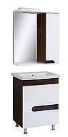 """Комплект мебели для ванной комнаты """"Венге-1"""" (правый)"""