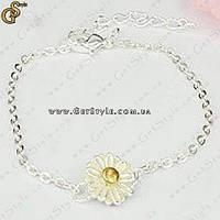"Браслет ""Chamomile Flower"", фото 1"