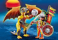 Конструктор Playmobil 5462 Каменный дракон с воином, фото 1