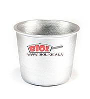 Форма для выпечки кулича (паски) алюминиевая 500 мл (d-10,5см, h-8,5см) ПРОЛИС ФПК-005