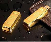 USB флешка, накопитель памяти 8Gb «Золотой слиток» (8 Гб)