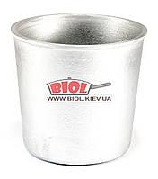 Форма для выпечки кулича (паски) алюминиевая 750 мл (d-11см, h-10см) ПРОЛИС ФПК-001