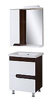 """Комплект мебели для ванной комнаты """"Венге-1"""" (левый)"""