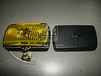 Фара противотуманная желтая ВОЛГА, ГАЗ 3102 (универсальная прямоугольная) (ОАО Автосвет)