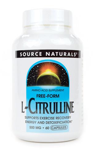 Л-цитрулин / L-Citrulline, 500 мг 60 капсул