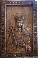 Икона резная Святая Елена