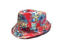 Шляпа Челентанка (Red Flowers)