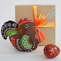 Подарочный пасхальный набор. Курочка с писанкой, фото 1
