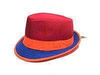 Шляпа Челентанка (Red & Blue)