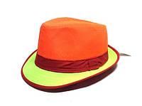 Шляпа Челентанка (Orange & Green)