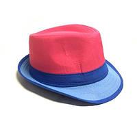 Шляпа Челентанка (Pink & Blue)