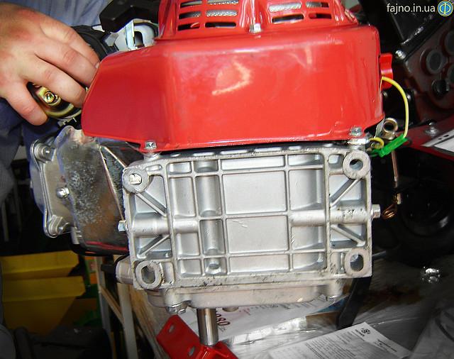 Двигатель с редуктором Булат 170F-L фото 8