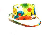 Шляпа Челентанка (Flowers & White)