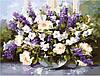 """Картина по номерам """"Весенний букет"""", 50х65см, MMC018."""