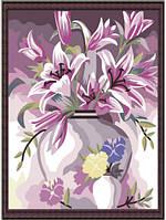 "Картины по номерам на холсте ""Букет лилий"", MG080, 40х50см, фото 1"