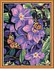 "Картина раскраска по номерам ""Бабочки на климатисах"", 40х50см. (MG129, КН129)"