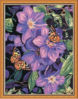 "Картина раскраска по номерам ""Бабочки на климатисах"", 40х50см. (MG129, КН129), фото 1"