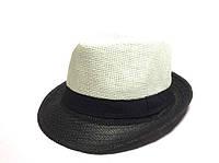 Шляпа Челентанка (Beige & Black)