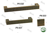 Ручки  мебельные РК 531 - РК 533, фото 1