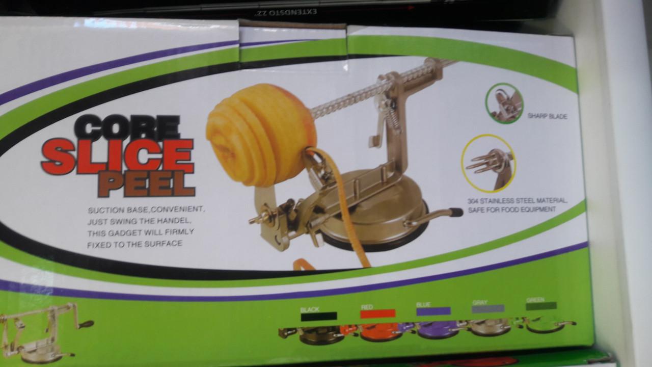Устройство для чистки и нарезки яблок и картофеля Core Slice Peel