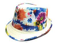 Шляпа Челентанка (White & Yellow)