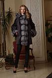 Шуба из мутона и чернобурки летучая мышь mouton and silver fox bat-shaped fur coat fur-coat, фото 2