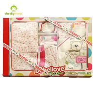 Большой подарочный набор для девочки розовый, фото 1