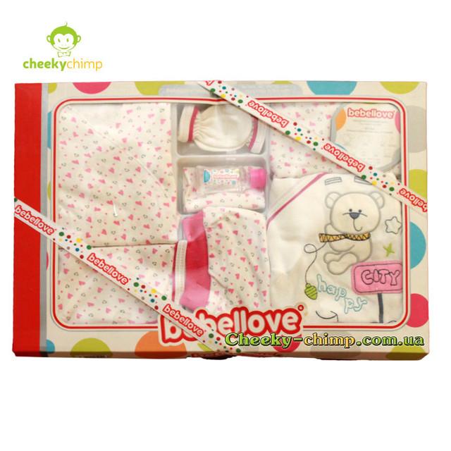 подарочный набор розовый для девочки