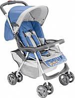 Коляска прогулочная Everflo E-301 light blue - grey