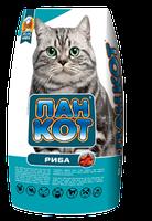Корм для кошек Пан Кот Рыба 10кг