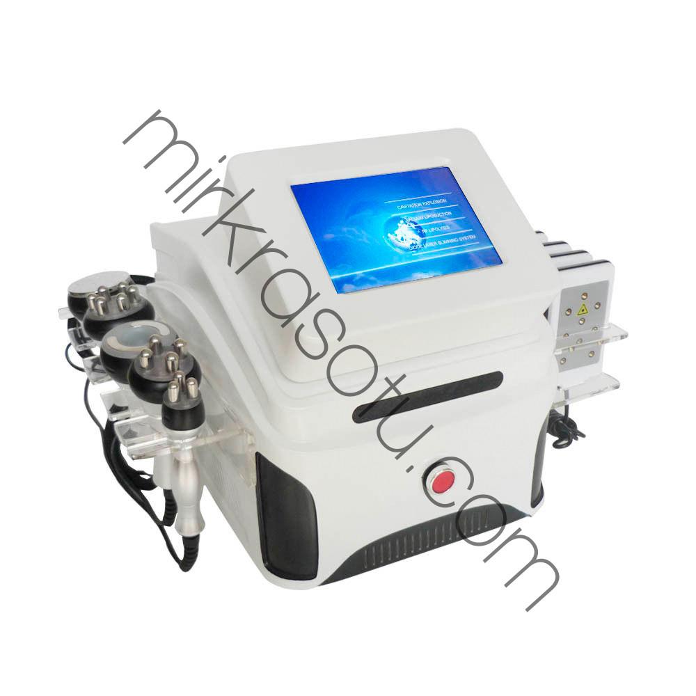 Аппарат Slim-5 6в1 Кавитация, Вакуумный массаж с RF - лифтингом , рф, лазерный липолиз , фото 1