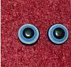 Глазки  стеклянные 9 мм 14277