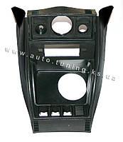 Заводская консоль для магнитолы (борода) на ВАЗ 2104-2107, Black