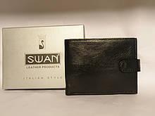 Индийский кожаный мужской кошелёк фирмы Swan