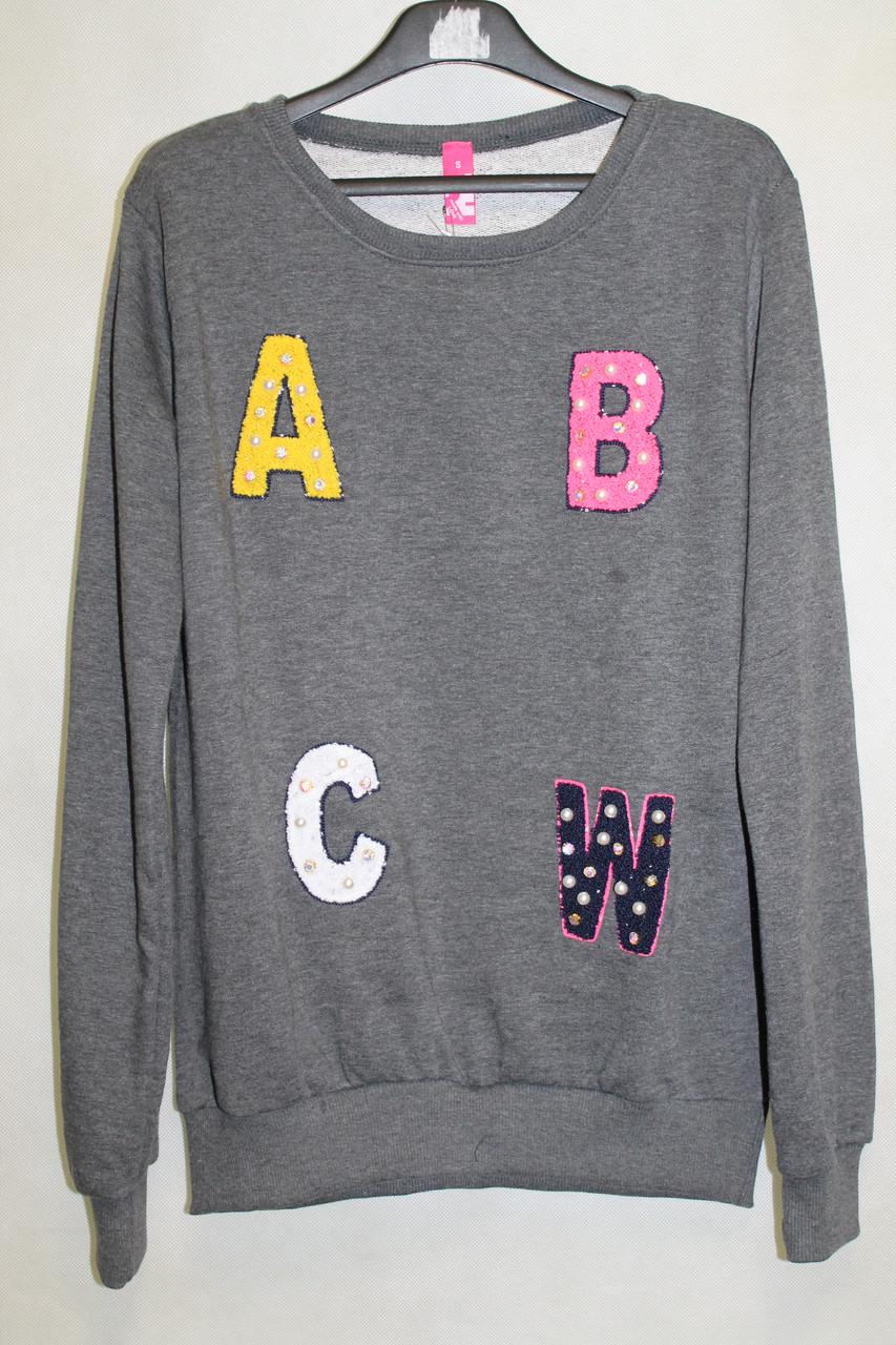 Молодежная женская кофта ABC