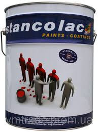 Полиуретановая краска Stancolac Топ Коат 5008 белая (PU TOP COAT) 25 кг